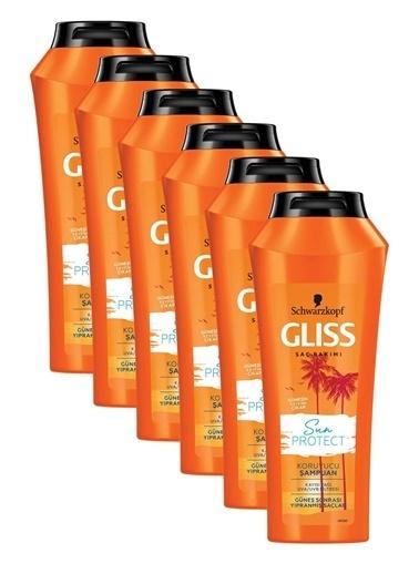 Gliss Sun Protect Güneşe Karşı Koruyucu Şampuan 500 Ml 6'Lı Renksiz